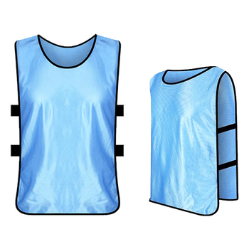 6 sztuk dziecięce piłkarskie Pinnies szybkie suszenie koszulki piłkarskie młodzież sport Scrimmage szkolenie zespołowe śliniaki praktyka kamizelka sportowa tanie i dobre opinie Dobrze pasuje do rozmiaru wybierz swój normalny rozmiar CN (pochodzenie) Materiał funkcyjny SHORT 6 PCS