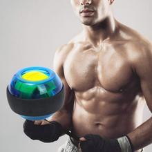 2 волшебных запястья мяч с подсветкой запястья самоосвещающийся супер гироскоп запястье сила мяч обучение фитнес оборудование