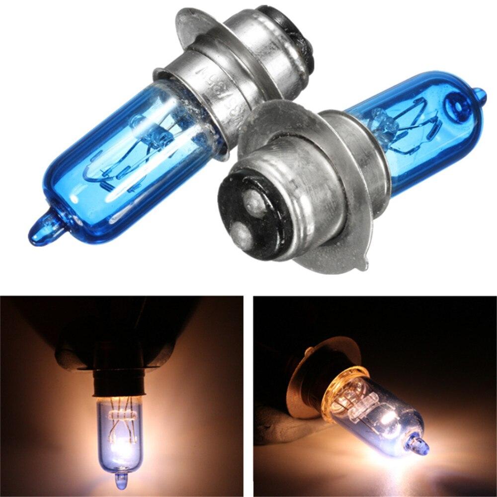Single 12V 35W P15d-25-1 Motorcycle Head Light Bulbs For Yamaha YFZ450R KFX YFM660