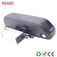 Electric bike hailong battery pack  52V 10.4Ah 11.6Ah 12Ah 13Ah 14Ah 750W 1000W fat tire ebike frame battery with charger