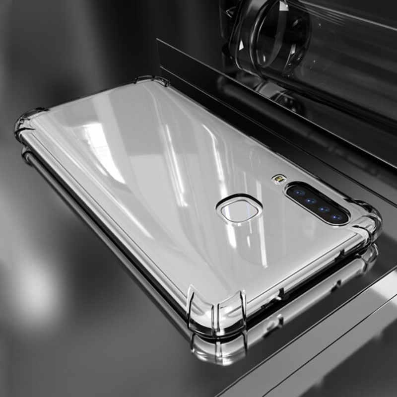 واضح الوفير للصدمات غطاء حقيبة لهاتف سامسونج غالاكسي A9S A6 A8 زائد A7 2018 S8 S9 Note8 9 J4 J6 J8 وسادة هوائية سيليكون الإسكان