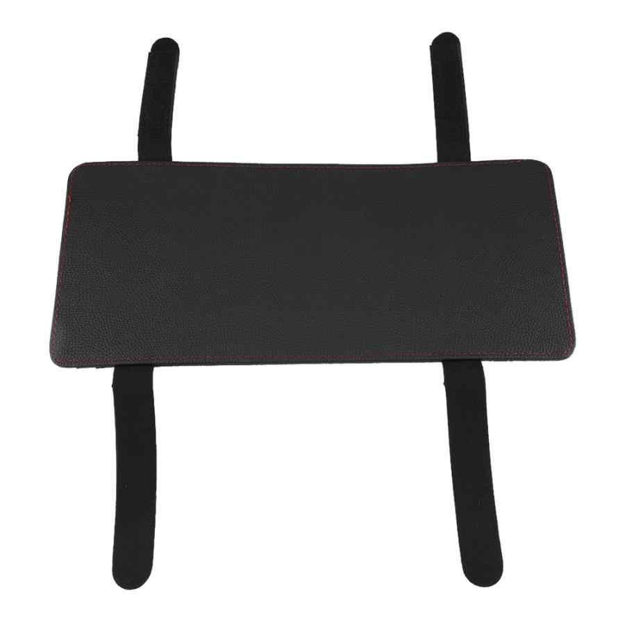 Автомобильный солнцезащитный козырек Tissue Box CD карта хранение из искусственной кожи солнцезащитный козырек бумажное полотенце Органайзер держатель черный автомобиль-аксессуары для укладки