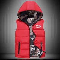 Daiwa Sleeveless Active Gilet Fly Fishing Vest Autumn And Winter Outwear Jacket Outdoor Sports Fishing Vest