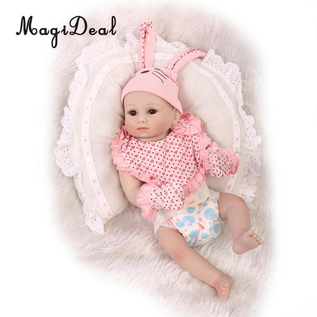 Otardpoupées 50 cm 20 pouces en Silicone souple artisanat nouveau-né bébé poupées réaliste à la recherche Reborn poupée bébé bambin enfants jouets