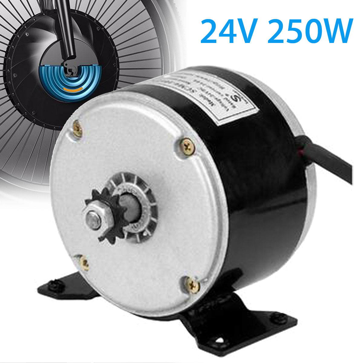 WOLIKE High Quality Brand New 24V 250W DIY Motor Permanent Magnet Generator For Micro Motor PMA