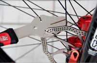 Disco del Freno della bicicletta Regolatore BIKE MANO Bike Disco Vassoio Strumento di Correzione Ciclo Rotori di Correzione Chiave di Servizio di Riparazione Dispositivo