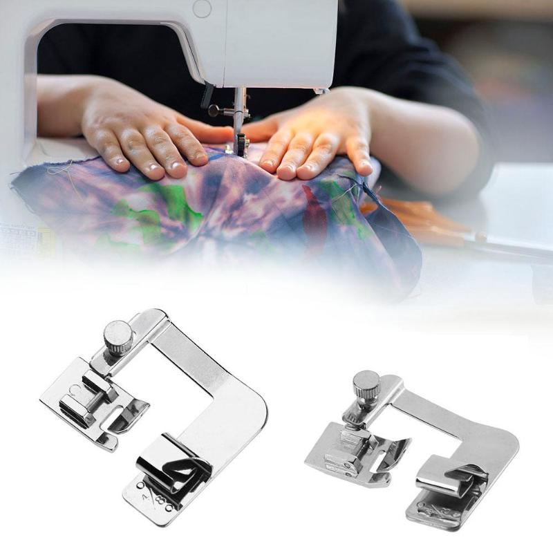 Image 2 - 13 25 cm Domestic Sewing Machine Foot Presser Rolled Hem Feet Set for Brother Singer Sewing Accessories-in Sewing Tools & Accessory from Home & Garden