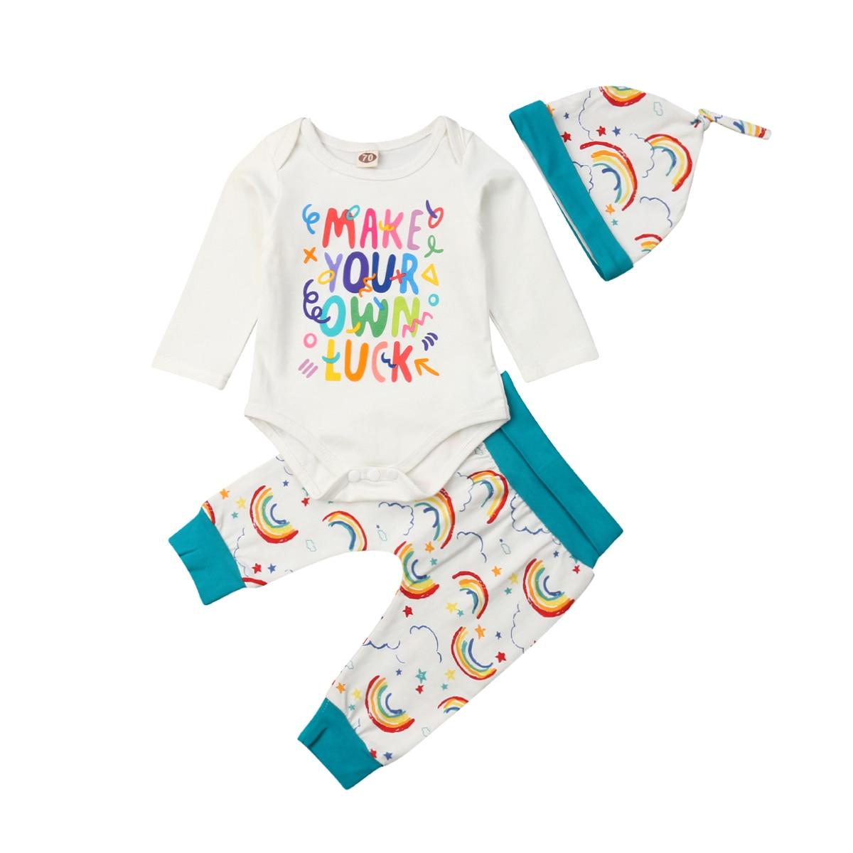 Toddler Newborn Baby Boy Girls Clothing Set Spring Infant ...