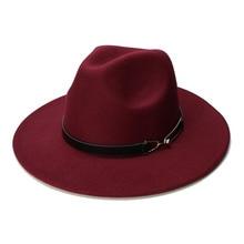 Wool Wide Brim Cap Hat Ring SF