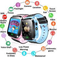 Y21S Anti-perte enfant enfant montre intelligente positionnement GPS montre poignet Fitness piste emplacement SOS appel soins de sécurité
