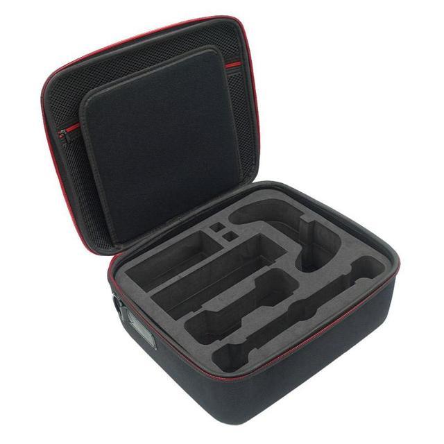 Grande Capacidade De Armazenamento Portátil EVA Casca Dura Protetora Carrying Bag Case para Nintend Interruptor Acessórios Kit