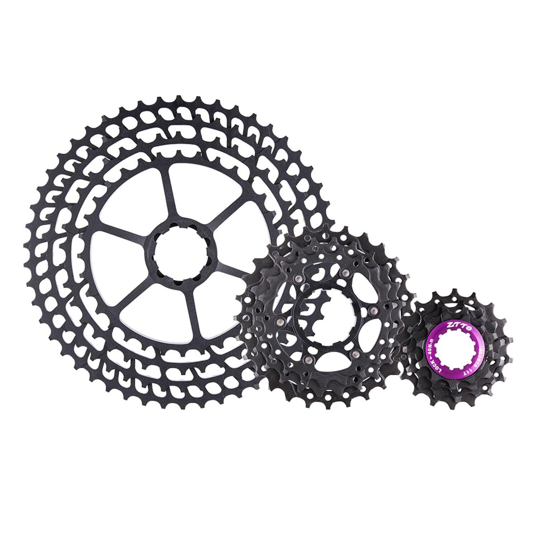 Ztto 11 vitesses Slr vélo Cassette 11-50 T 11 S 11 V K7 11 vitesses 50 ultra-léger 368G CNC roue libre vtt VTT pour X