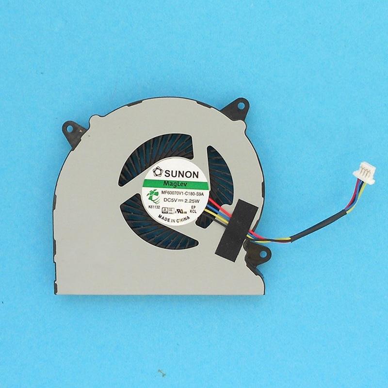 New Original CPU Cooling For Asus N550 N550J N550JV N550L N750 N750JV N750JK G550J G550JK Laptop Cooler Fan MF60070V1-C180-S9A
