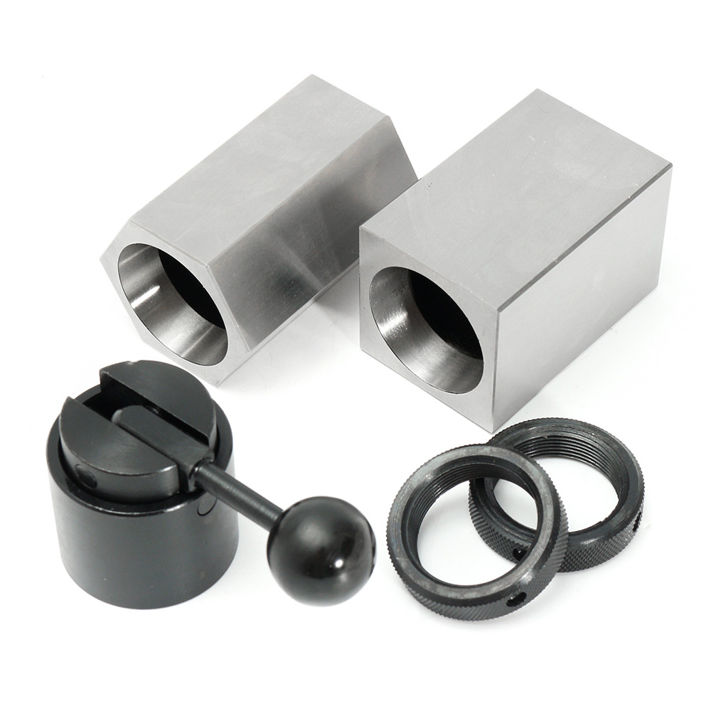 5C Collet Block Chuck Set Square Hex Collecy Closer Holder Lathe Tools Kit