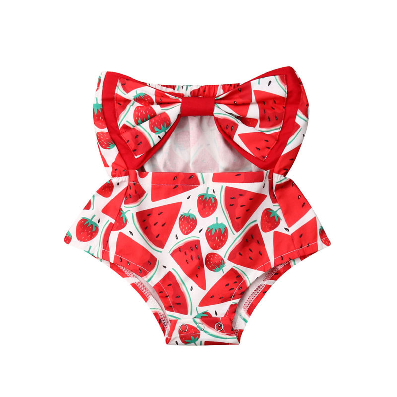 Baby Girl Watermelon Outfit