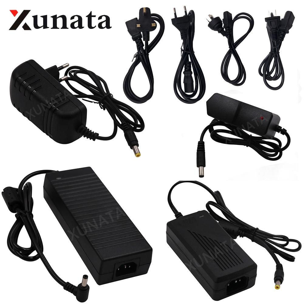 AC100-240V To DC12V 1A 2A 3A 5A 6A 8A 10A Switching Adapter For LED Light Strip EU US UK AU 12V Power Supply Set