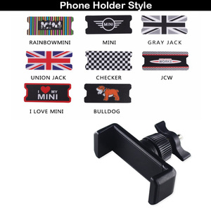 Image 5 - 11.11 Car Mobile Phone GPS Holder Bracket Decorations for Mini Cooper Countryman F60 R56 R55 R60 F55 F54 Accessories Car Styling
