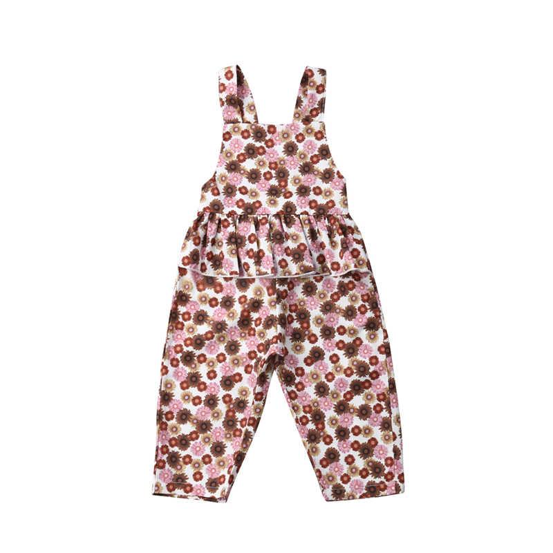 Recién Nacido chico Floral mameluco mono traje caliente nuevo recién nacido bebé niña ropa Floral Falbala dulce Romper
