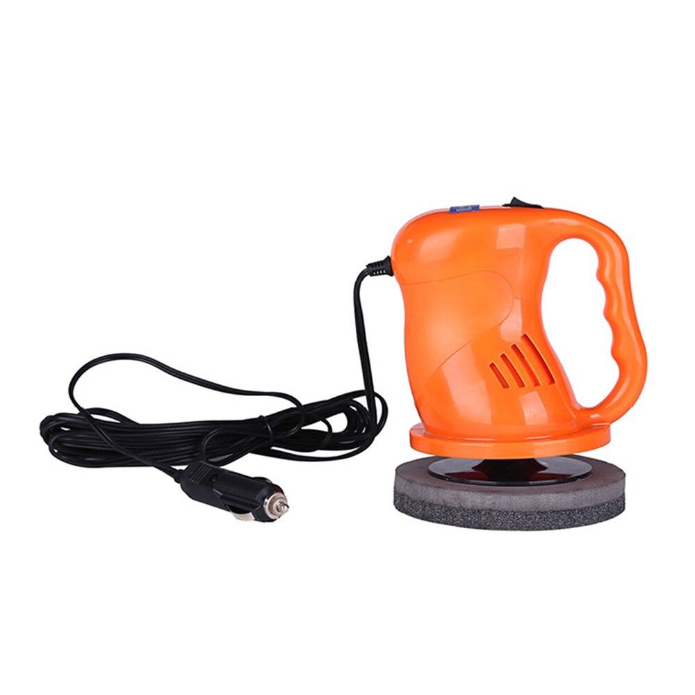 12V 40W szlifierka do woskowania Auto do polerowania samochodu elektryczny wosk do polerowania woskowanie Waxer narzędzia elektryczne