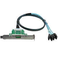 Mini Sas26 To 4*Sata Server Sync Data Transmission Cable Sata Data Reverse 0.5M