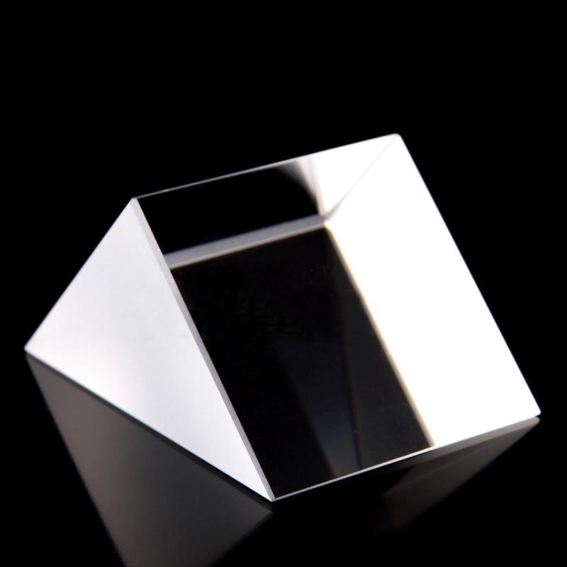 40x40x40mm Optical Glass Prisms Triangular Lsosceles Right Angle K9 Prisms Lens Medicine40x40x40mm Optical Glass Prisms Triangular Lsosceles Right Angle K9 Prisms Lens Medicine