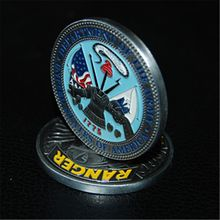 10pcs/lot free shipping US Army Ranger Challenge Coin - Rangers Lead The Way