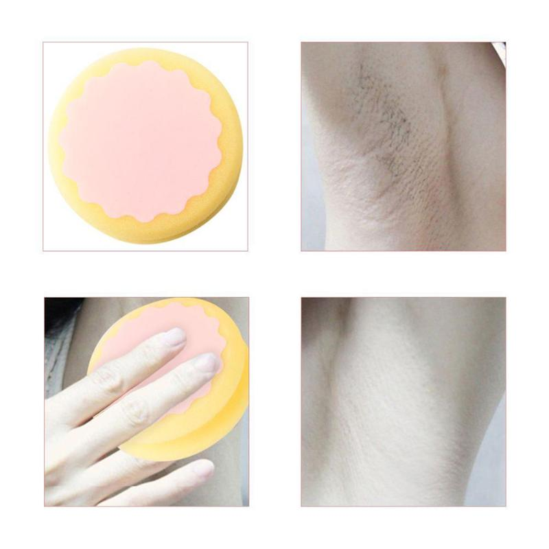 Shaving & Hair Removal Hair Removal Cream Obedient 1pcs New Painless Depilation Sponge Hair Removal Multi-function Pad Save Way For Leg Arm Flawlessness Hair Removal Effective Pad Wide Varieties