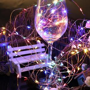 10M LED Copper Wire String Lights Starry String Light Holiday Fairy Light Christmas Wedding Party Decor With 100V 240V EU Plug|Lighting Strings|Lights & Lighting -