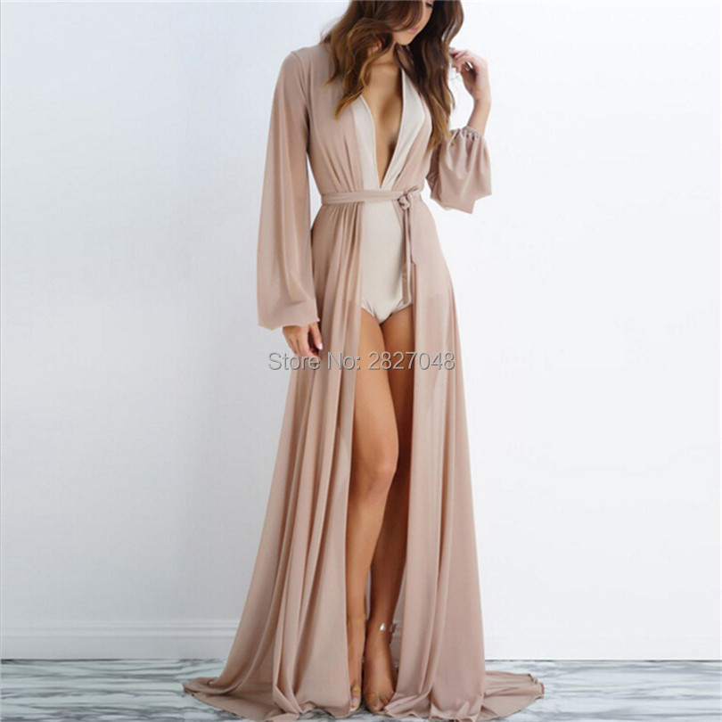 Beach Cover Up Sexy Robe Plage See-through Beach Long Dress Pareos Women Beach Tunic Sarong Bathing Suit Bikini Cover Up