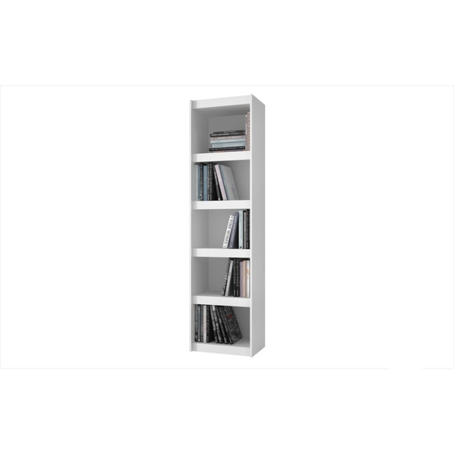 Valuable Parana Bookcase 2.0 with 5-Shelves in White