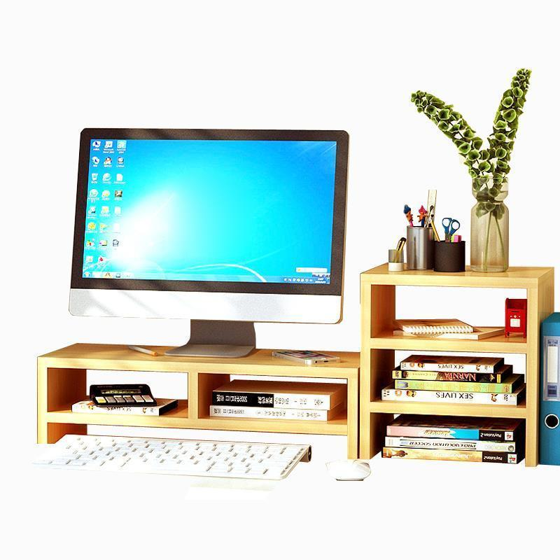 Shelf Organizacion Home Decoration Accessories Computer Display Stand Storage Rack Prateleira Repisas Estantes Shelves