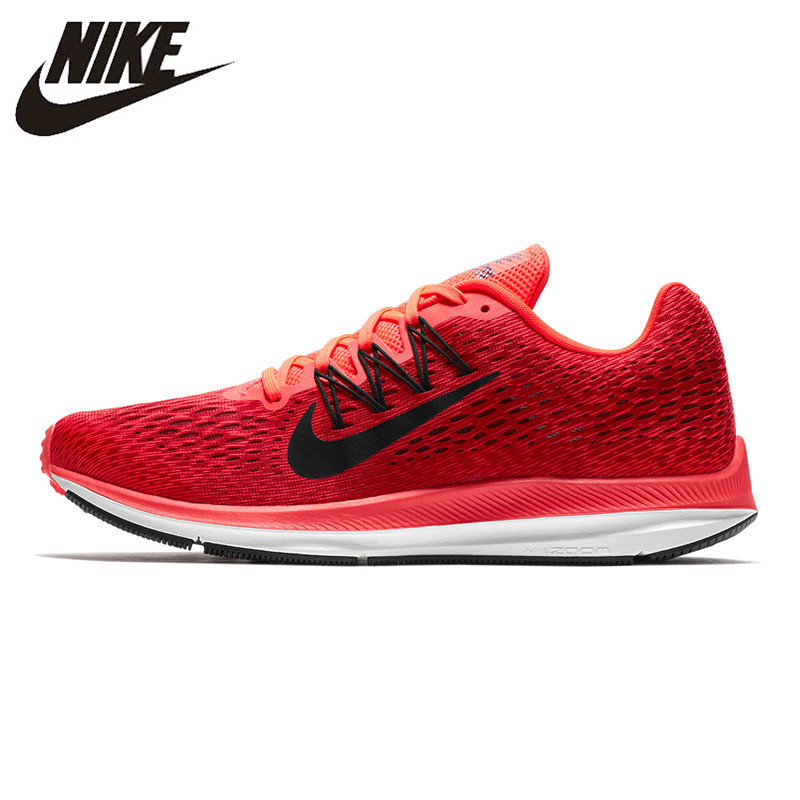 Nike ZOOM WINFLO 5 Men's Running Shoes Lightweight Shock Absorbing Breathable Wear Resistant Sneakers AA7406-600