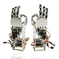DIY 5DOF Robot Five Fingers Metal Manipulator Arm Left and Right Hand QDS 1601