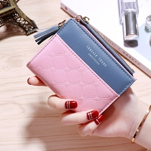 Small Wallet Female Short Paragraph Folding Student Cute Fresh Multi-Function