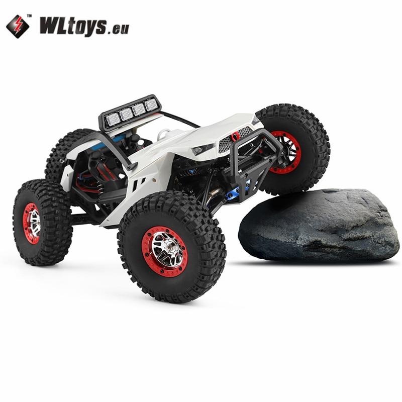 Haute Vitesse Wltoys 12429 1/12 2.4g 4WD40km/h Hors-Route Sur-Route Radio Control RC Voiture buggy Avec Head Light