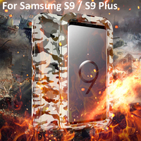 S9 S9Plus Armor Metal Shockproof Case for Samsung S 9 Plus Aluminum Life Waterproof Cover For Samsung Galaxy S9 Phone Bags