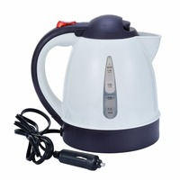 Mayitr 1000mL 12V Portable Car Kettle Water Heater Bottle for Tea Coffee Travel Automobile Heating Kettle