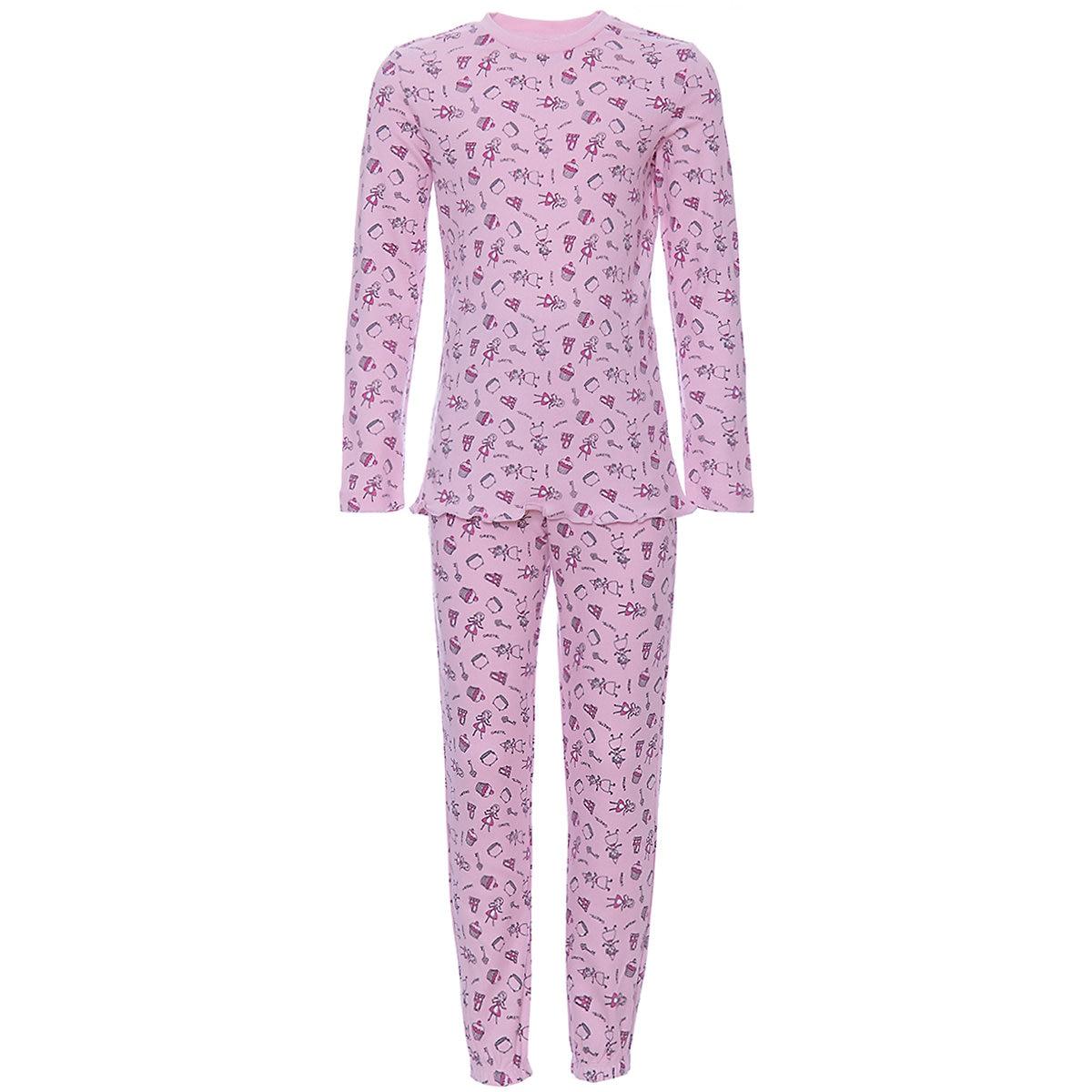 ORIGINAL MARINES Pajama Sets 9501969 Cotton Girls childrens clothing Sleepwear Robe leaf print ruffle hem cami pajama set