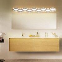 New Arrival 40 120cm Modern LED mirror light Wall Light AC90 260V Cosmetic led Wall lamp bedroom lamp applique murale luminair