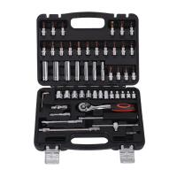 53pcs Socket Ratchet Wrench Sleeve Set Kit for Car Bicycle Hardware Repair Tools Universal Auto Repairing Hand Wrench Tool Set