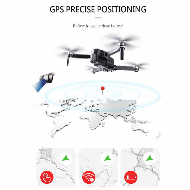 SJRC F11 gps Дрон с Wifi FPV 1080P камера бесщеточный Квадрокоптер 25 минут время полета управление жестами складной Дрон Vs CG033