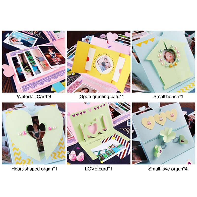 Birthday Surprise Gift Photo Album Sticker Valentine Day Wedding Box Explosion Boxes Wrapping