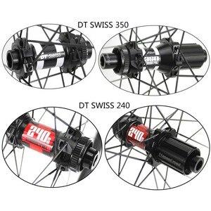 Image 4 - Jantes en carbone 700c avec frein à disque, 32x35mm, Tubeless, 6 Types de moyeu et de pilier, 1423 rayons, 3k/6k/12k/UD