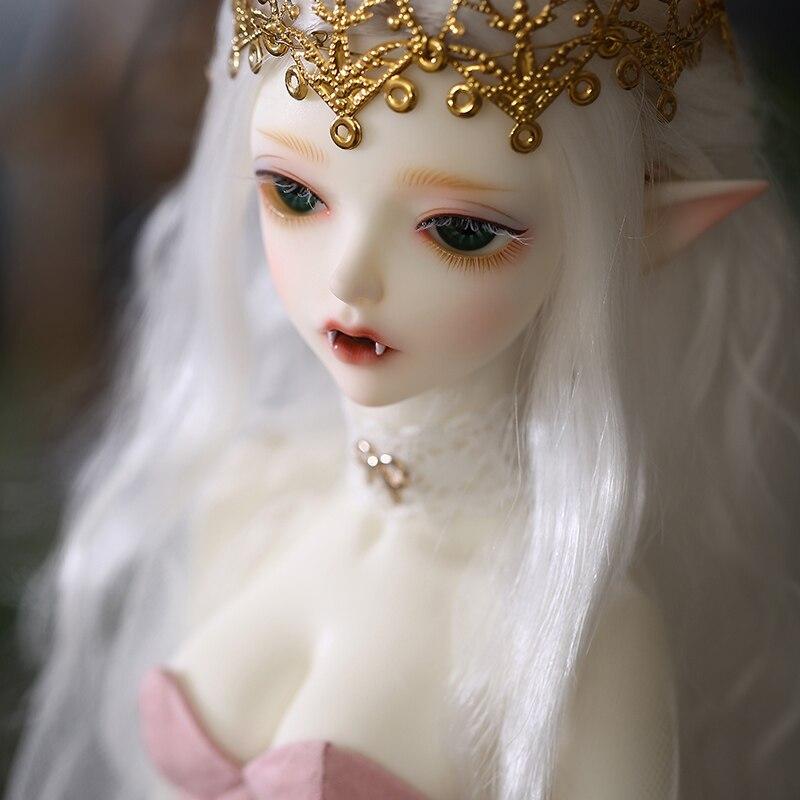 구체관절 인형새로운 도착 bjd 인형 1/4 Minifee hwayu 인형 소녀를위한 고품질 실리콘 수지 장난감 생일 최고의 선물 fairyland-에서인형부터 완구 & 취미 의  그룹 1