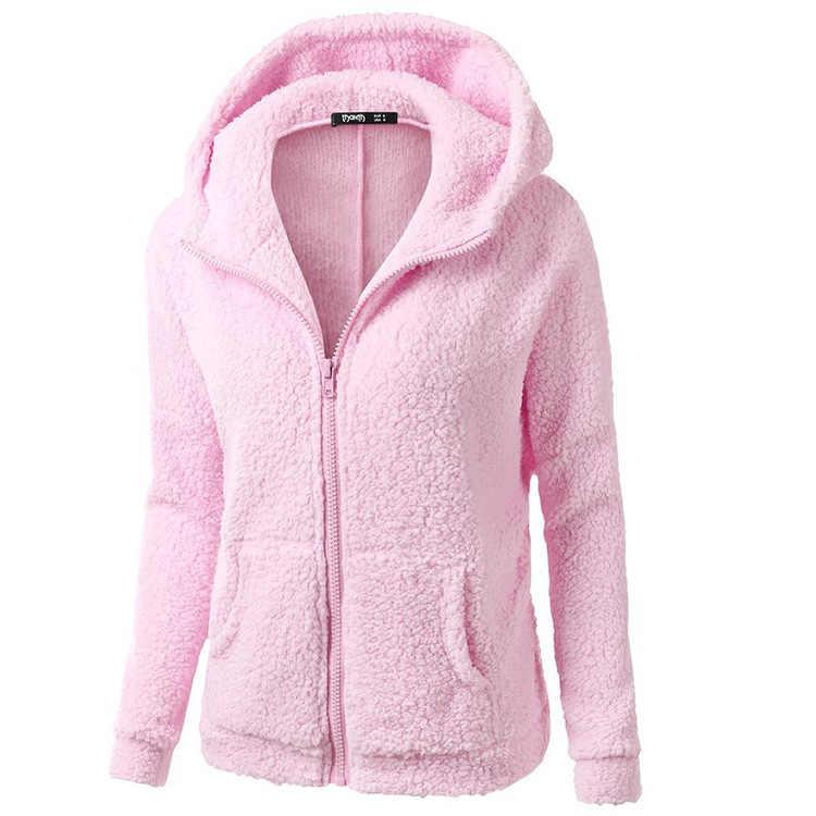 2019 популярные модели Ebay, Amazon Горячая женская Европейская и американская модная толстовка с капюшоном свитера куртки и пальто женские
