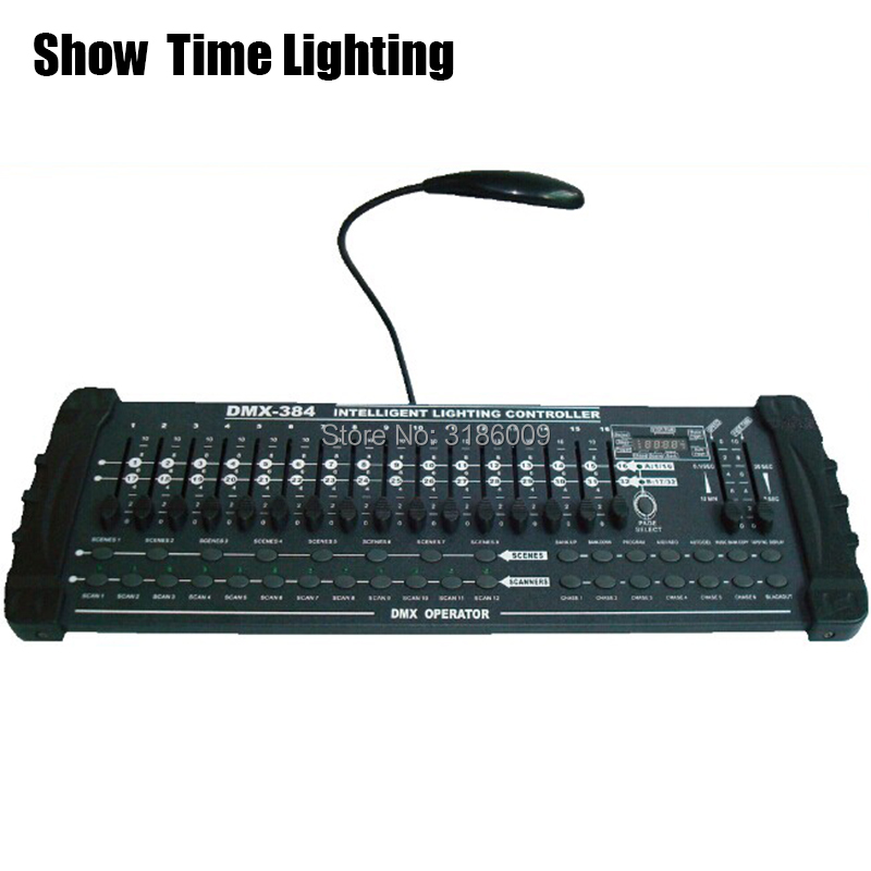 384 DMX Controller Good Quality Stage Lighting Console Professional Dmx 512 Singal Controller For Moving Head Led Par