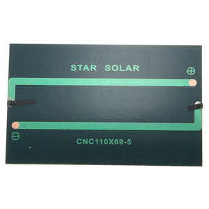 Image 5 - CLAITE Wholesale 5V 1.25W 250mA Solar Panel Monocrystalline Silicon Epoxy DIY Solar Cells Module For Cellphone Battery Charger