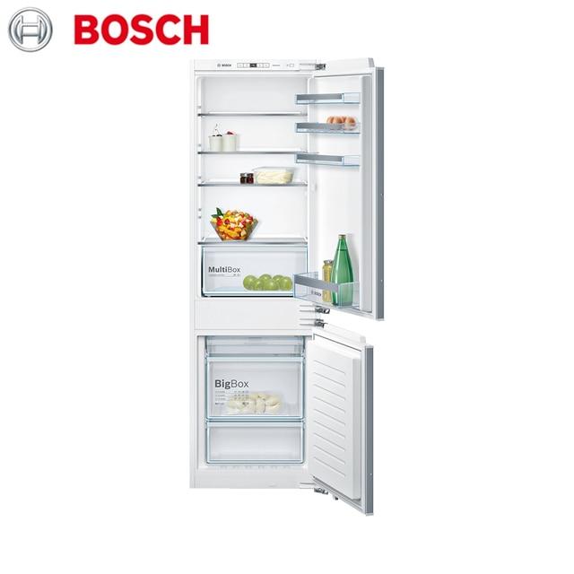 Встраиваемая холодильно-морозильная комбинация с нижней морозильной камерой Bosch Serie|4 KIN86VF20R