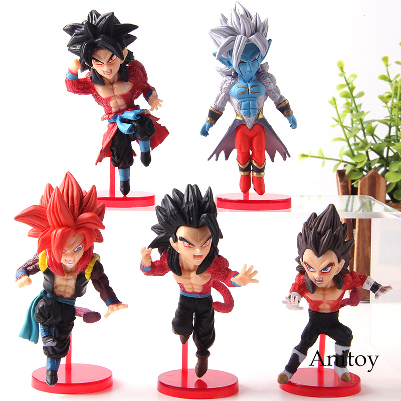 Banpresto Super Dragon Ball Heroes World Collectible Figure Vol.4 set of 5 JAPAN