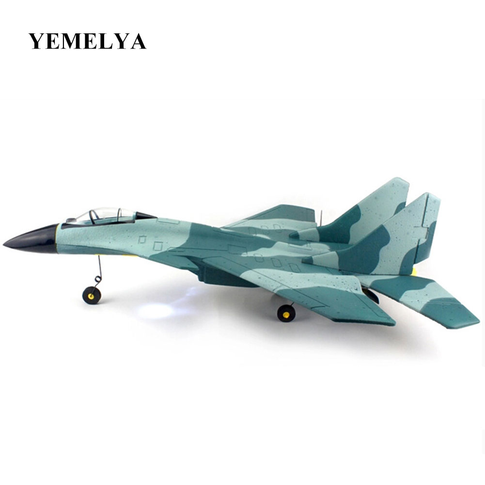SU27 fighter control glider ruggedness children's toys helicopter model aircraft Drones RC Jet DIY Kit